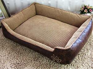 Details about Removable Washable Soft Heavy Duty Extra Large Dog Bed Pet  Cat Cushion M L XL