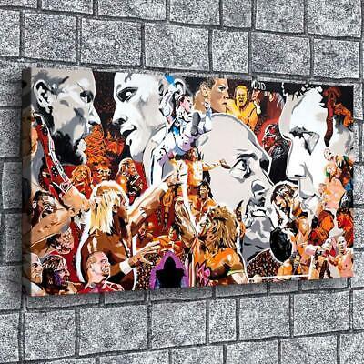 wwe portrait artist hd canvas prints painting home decor