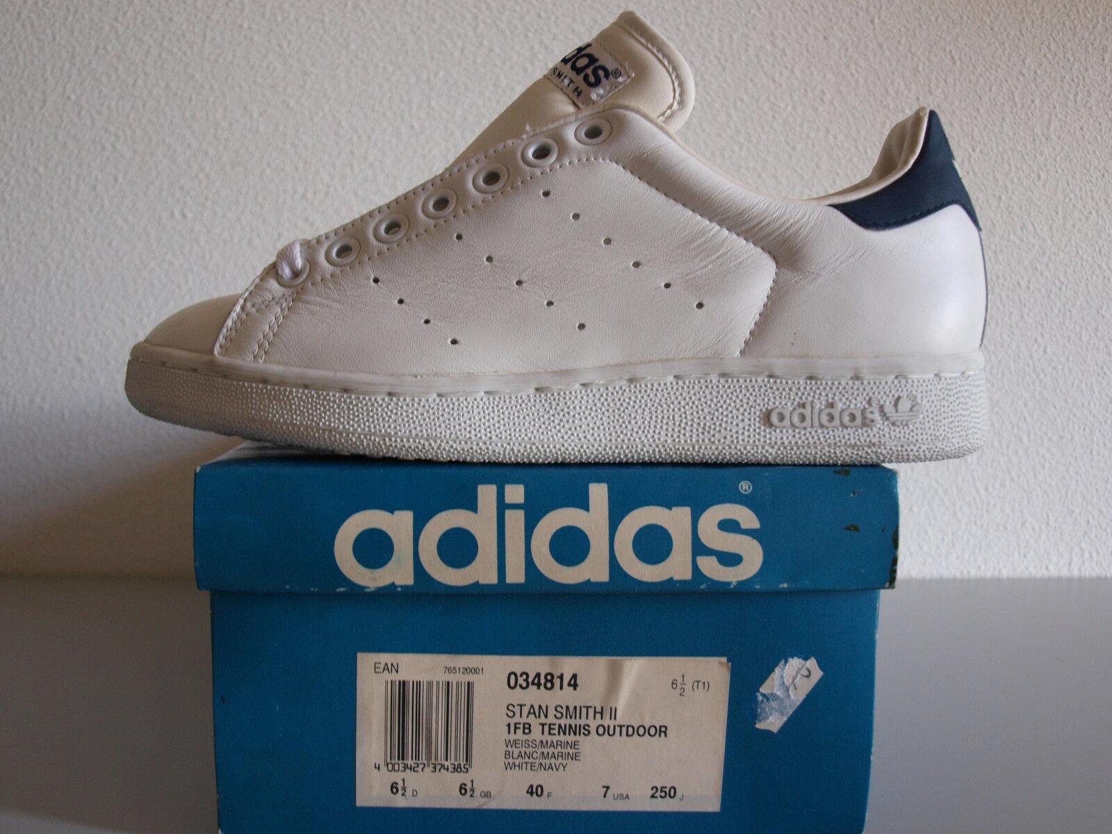 Adidas Stan nos II 7 2018 Vintage Smith II nos Raro Originals Nuevo Y En Caja Torsion Equipo Original 6cb3a7