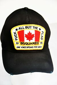 5dfd3a15f01 Dsquared Hat BLACK Canadian