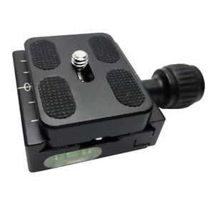 50mm-QR-50-Square-Clamp-Adapter-PU50-Quick-Release-Plate-For-Arca-Swiss-Tripod