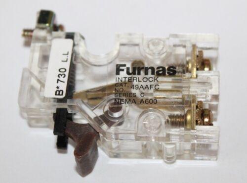 Series C NOS  normally closed interlock 49AAFC Furnas Interlock N//C