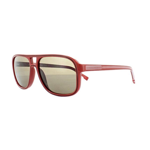 Lacoste L742s 615 Red Aviator Sunglasses   eBay a1a93d708c