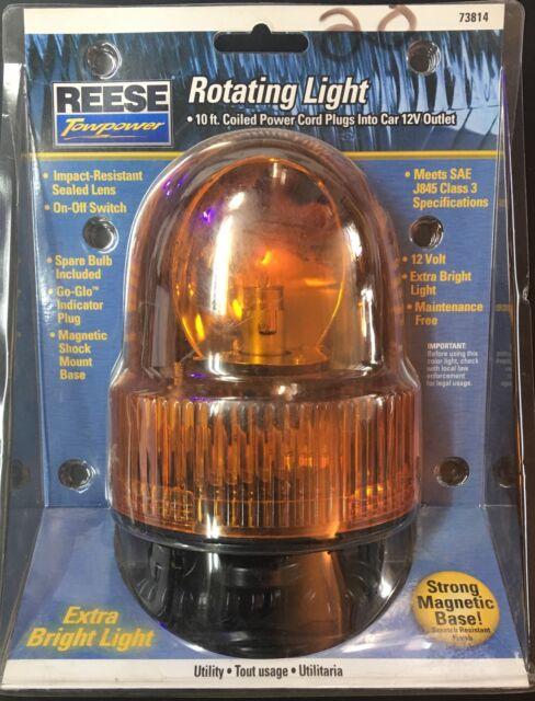 Reese Towpower 73814 Rotating Amber Warning Light