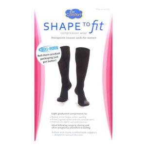 6b8510187da Womens Trouser Dress Socks 15-20 mmHg Compression Supports Calf ...