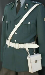 DDR parata Set Cinturone Cintura in Pelle + Custodia + Barella aiuto NVA, Qualità