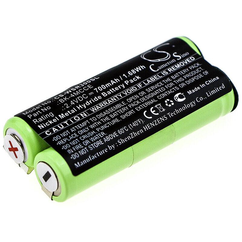 Battery for Waterpik BK-4MCCE 900 Sonic Toothbrush Sensonic Plus SR-3000 SR3000E