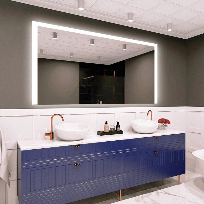 DEL Illuminé Salle De Bain Miroir Mural   moderne   variants   Premium M1ZP-37
