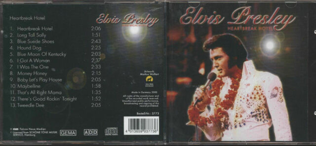 CD - Elvis - Heartbreak Hotel