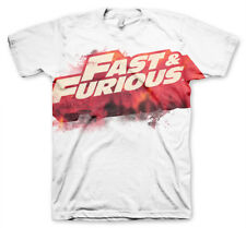 Officially Licensed Fast /& Furious Engine Baseball Long Sleeve Tee S-XXL Sizes