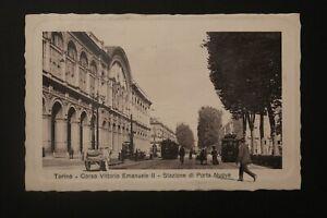 Tarjeta-Postal-Antigua-1911-Torino-Turin-Corso-Vittorio-Emanuele-II