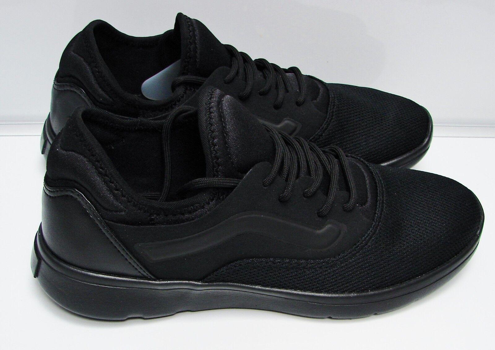 Vans Iso Route (Staple) Black Black VN-0A3TKEQTF  Men's Size 10