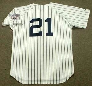 new arrival efda0 b8226 Details about PAUL O'NEILL New York Yankees 1998 Majestic Cooperstown Home  Baseball Jersey