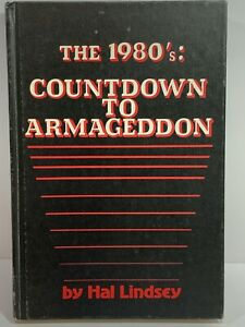 Vtg-1980-The-1980-039-s-Countdown-To-Armageddon-Hal-Lindsey-HC-First-Edition