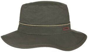 724d898d7acc1 Stetson Sun Guard Hunting Hat Angler s Bucket 5 Khaki Outdoor ...