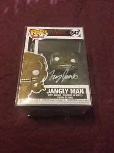 Jangly Man Signed Funko Pop