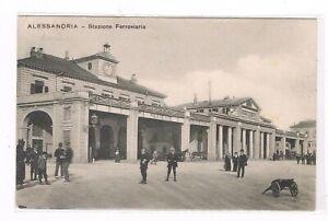 alessandria-esterno-stazione-ferroviaria-animata-spedita-1911