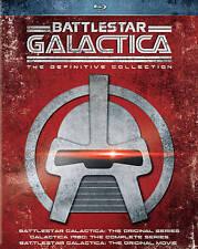 Battlestar Galactica: The Definitive Collection (Blu-ray Disc, 2015 18-Disc Set)