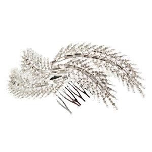 Feder Haarclip Haarklammer Haarspange Haarschmuck Haar Haarnadel Pin