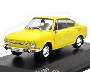 SKODA 110R - 1970 - yellow - WhiteBox 1:43
