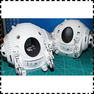 Film-2001-A-Space-Odissey-One-Man-Space-Capsule-Pod-Paper-Model-Kit-15cm-6-Tall