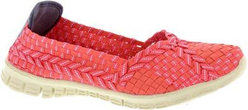 1 Adesso Femme à Enfiler élastique Vegan friendly Chaussures Lolly corail