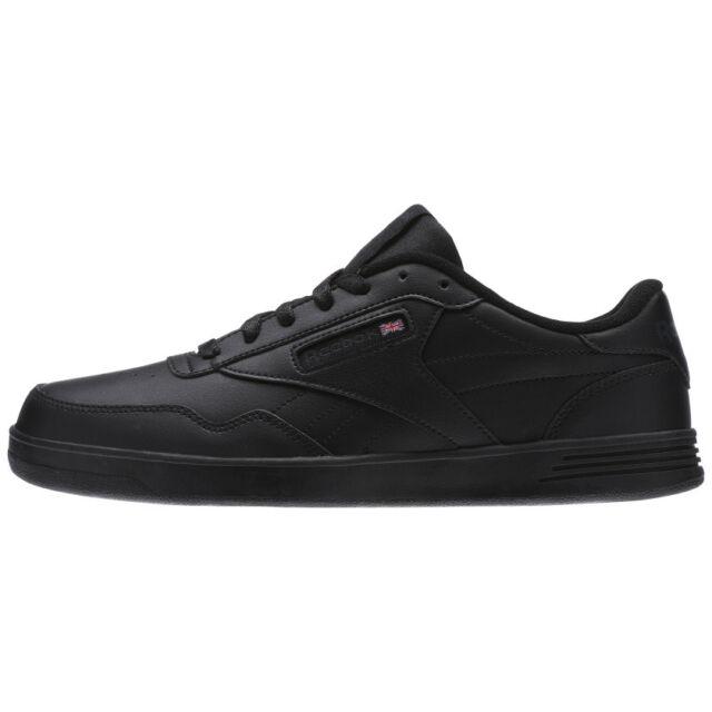 b8e117111d0 Reebok Classic Club Ment Men s Shoe Wide 4E NEW Black Sizes 9 Thru 12 V68166