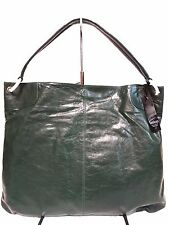 NWT Latico Shoulder Bag Leather Forest Green ,Antique Hardware
