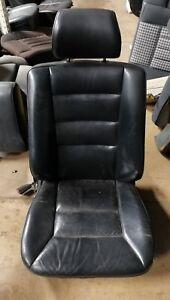 Sitzbezüge schwarz vorne KOS MERCEDES W124