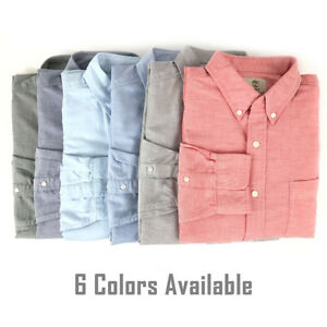 Timberland Men S Long Sleeve Casual Cotton Button Down Oxford Shirt