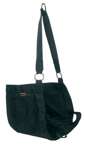 Bootsmannsstuhl Bootsmannstuhl Bootsmannssitz schwarz Nylon mit Werkzeugtasche