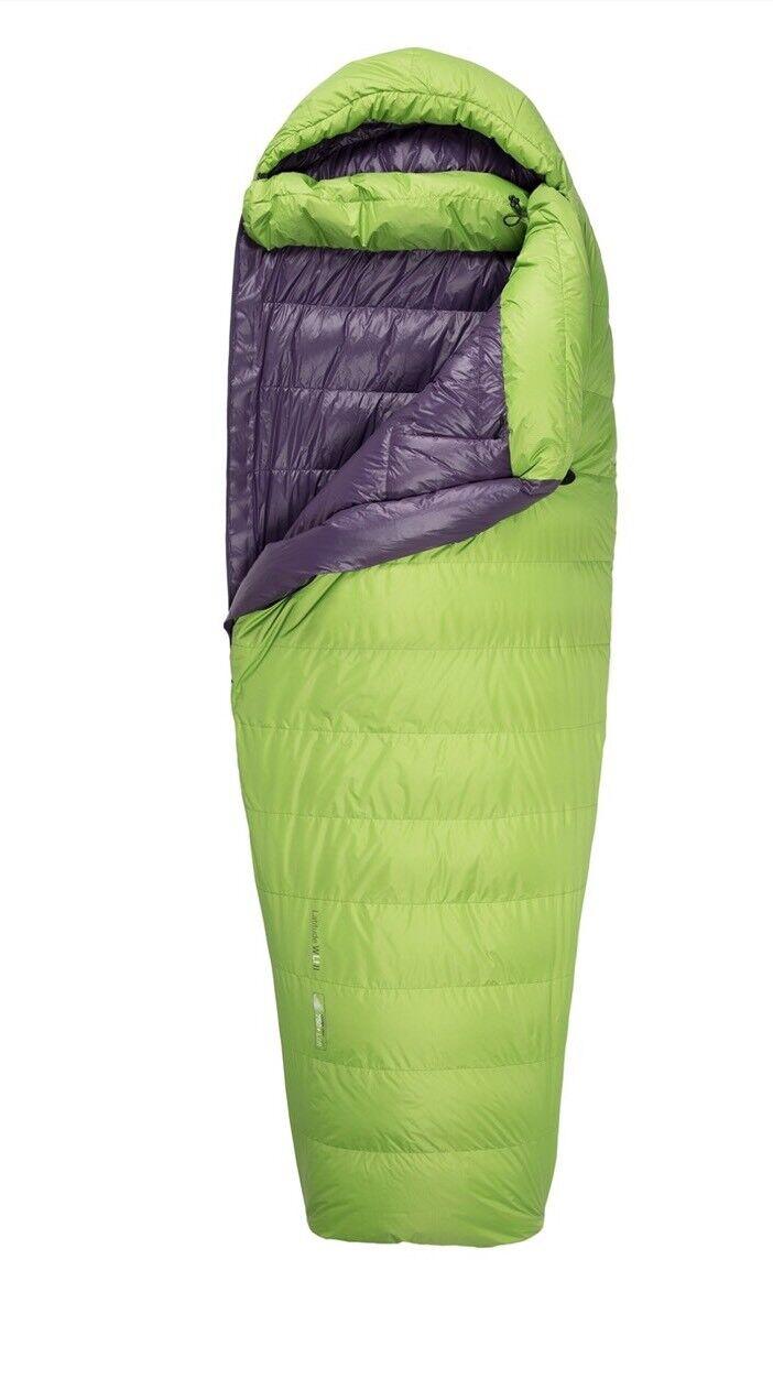 Sea to Summit Women's Latitude 2 Sleeping Bag- Green Regular   leisure