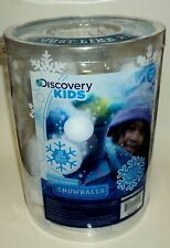 DISCOVERY KIDS 12 Piece Indoor Snowballs No Two Balls Alike New In Container