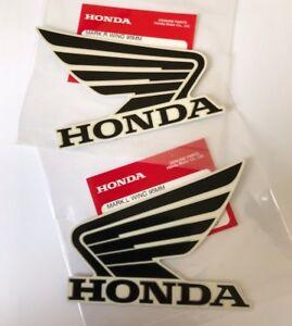 Honda Wing Fuel Tank Decal Wings Sticker 2 x 90mm WHITE /& BLUE 100/% GENUINE