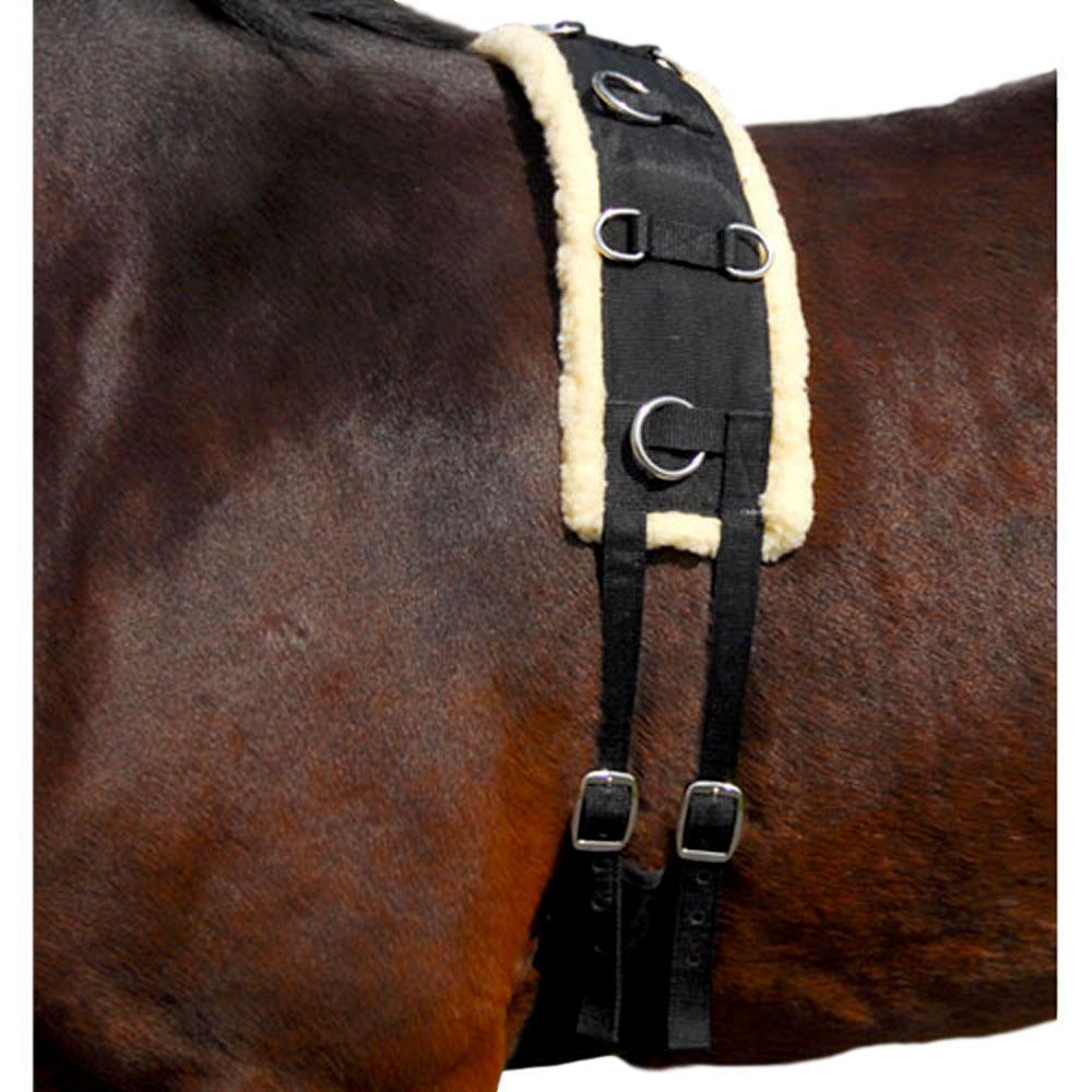 Intrepid International NEW Training Surcingle with Fleece Padding Pony Size