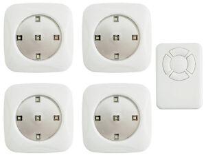 4-LED-Schrankleuchten-Moebelleuchten-mit-Fernbedienung-Unterbauleuchte-Unterbau