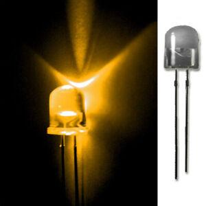 LED-10mm-GELB-20-50-100-500-LEUCHTDIODEN-SUPERHELL-RUNDKOPF-AUSWAHL