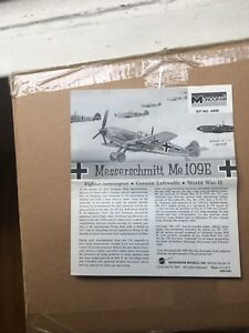 Details about Monogram Messerschmitt Me109E 1/48 model kit INSTRUCTIONS  ONLY / free S&H in US
