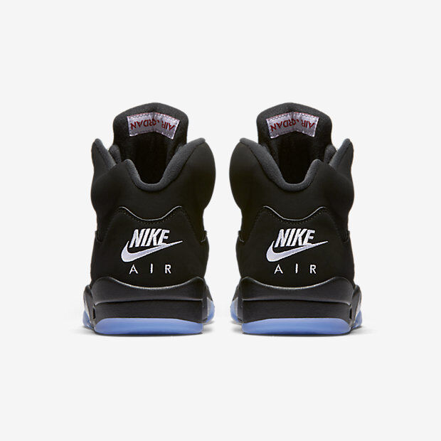 7bdca178137 2016 Nike Air Jordan 5 V Retro OG Black Silver Size 845035-003 1 2 Metallic  15. nxtjxy447-Athletic Shoes