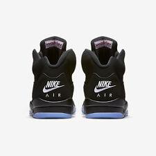 c4b83fe63f2 2016 Nike Air Jordan 5 V Retro OG Black Metallic Silver Size 7y. 845036-