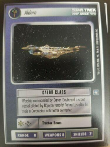 Star Trek CCG Deep Space Nine DS9 Aldara NrMInt-Mint
