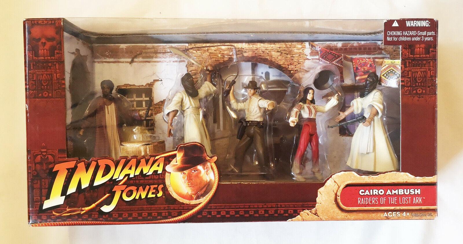 Indiana Jones Cairo Ambush Action figures set 3.75 scale