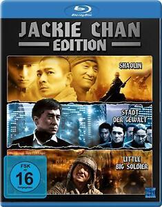 Little Big Soldier + Shaolin + Città della violenza [Blu-Ray/Nuovo/Scatola Originale] Jackie Chan
