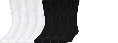 Pick SZ//Color. 8 Pack Under Armour Socks Boys Charged Cotton 2.0 Crew