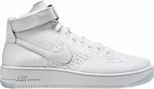 check out 7f0a9 172a2 Image is loading NIKE-AIR-FORCE-1-ULTRA-FLYKNIT-MID-WHITE-