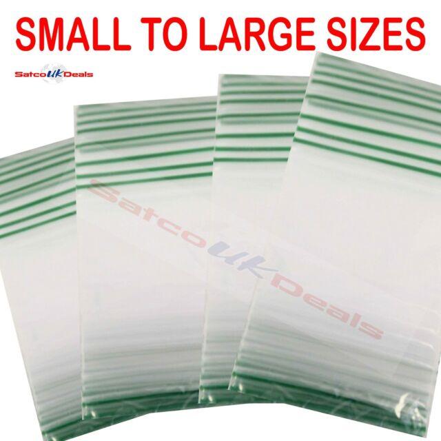 BAGGIES SMALL LEAF BAG 30mm x 30mm Resealable Plastic Grip Zip Lock Bags