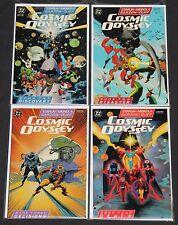 Vintage Copper COSMIC ODYSSEY 4pc High Grade Comic Lot TPB Batman Superman JLA