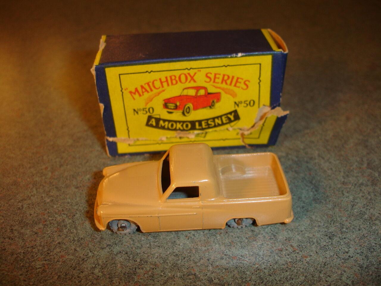 Antiguo De Colección Matchbox Lesney   50 del desarro Pastilla Mk Viii, Camión De Juguete Hecho En Inglaterra
