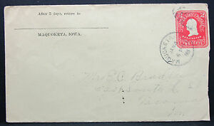 US-Postal-History-Stationery-Cover-Duplex-Stamp-2c-1905-USA-GS-Letter-H-6829