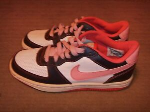 Nike 349660-161 White/Blue/Pink Womens Size 6.5